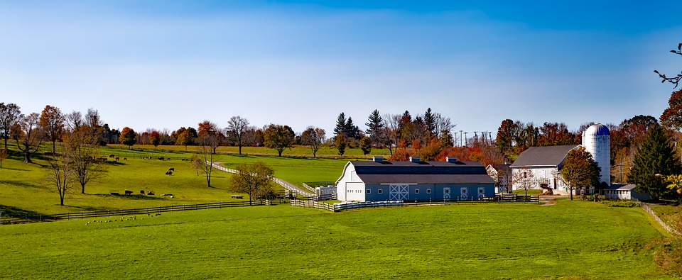 image of a farm in connecticut
