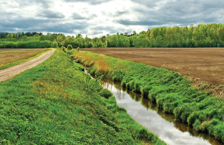 ditch-with-water