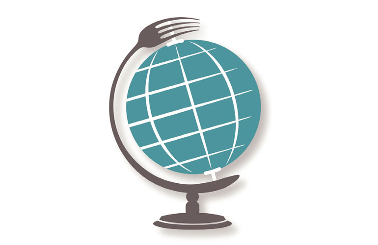 world-globe-with-a-fork