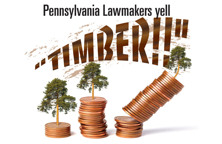 PA-Lawmakers-Yell-Timber